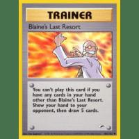 Blaine's Last Resort - 105/132 Thumb Nail