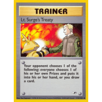 Lt. Surge's Treaty - 112/132 Thumb Nail