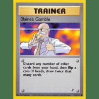 Blaine's Gamble - 121/132 Thumb Nail