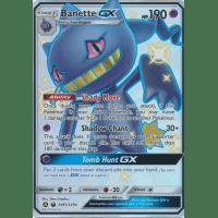 Shiny Ultra Rare Near Mint Sun /& Moon Hidden Fates 3Q6 Banette GX SV61//SV94