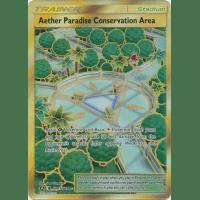 Aether Paradise Conservation Area (Secret Rare) - SV87/SV94 Thumb Nail