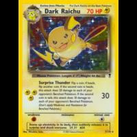 Dark Raichu - 7/110 Thumb Nail