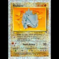 Rhyhorn - 90/110 (Reverse Foil) Thumb Nail