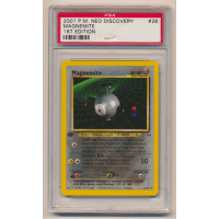 Magnemite - Graded Neo Discovery First Edition 26/75 Thumb Nail