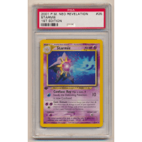 Starmie - Graded Neo Revelation First Edition 25/64 Thumb Nail