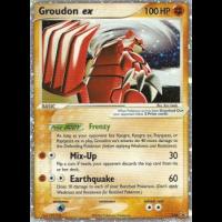 Groudon ex - 038 Thumb Nail