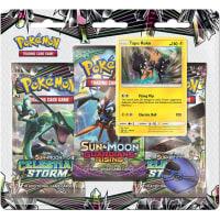 Pokemon - SM Celestial Storm 3 Booster Blister - Tapu Koko Thumb Nail
