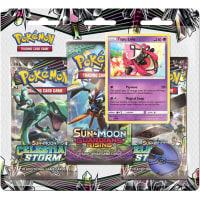 Pokemon - SM Celestial Storm 3 Booster Blister - Tapu Lele Thumb Nail