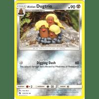 Alolan Dugtrio - 123/214 Thumb Nail