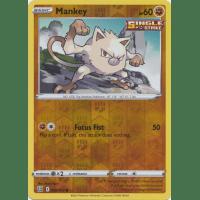 Mankey - 066/163 (Reverse Foil) Thumb Nail