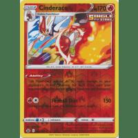Cinderace - 028/198 (Reverse Foil) Thumb Nail