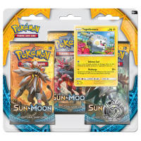 Pokemon - Sun & Moon 3 Booster Blister (Togedemaru) Thumb Nail