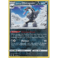 Galarian Obstagoon - 119/202 (Reverse Foil) Thumb Nail
