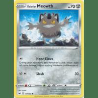 Galarian Meowth - 127/202 Thumb Nail