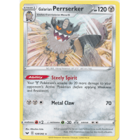 Galarian Perrserker (Non-Holo) - 128/202 Thumb Nail