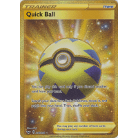 Quick Ball (Secret Rare) - 216/202 Thumb Nail