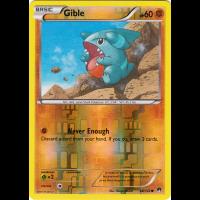 Gible - 68/122 (Reverse Foil) Thumb Nail