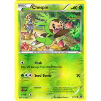 Chespin - 7/162 (Reverse Foil) Thumb Nail
