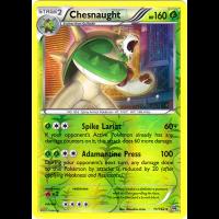 Chesnaught - 11/162 (Reverse Foil) Thumb Nail