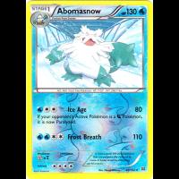 Abomasnow - 40/162 (Reverse Foil) Thumb Nail