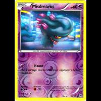 Misdreavus - 65/162 (Reverse Foil) Thumb Nail