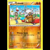 Cubone - 77/162 (Reverse Foil) Thumb Nail