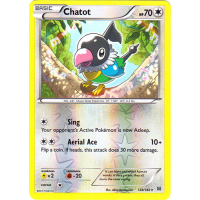 Chatot - 128/162 (Reverse Foil) Thumb Nail