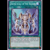 Abyss-Scale of the Kraken ABYR-EN056 Common Yu-Gi-Oh Card Mint U New