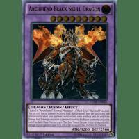 Archfiend Black Skull Dragon (Ultimate Rare) Thumb Nail