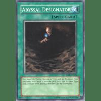 ABYSSAL DESIGNATOR 3 X YU-GI-OH CARD SOD-EN040