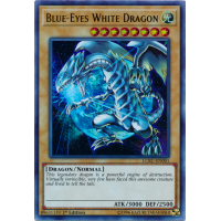 Blue-Eyes White Dragon (Space and Earth Background) Thumb Nail