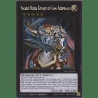 Sacred Noble Knight Of King Artorigus Yu-Gi-Oh SHSP-IT087 Ultra