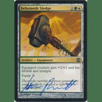 Behemoth Sledge Signed by Steve Prescott (Alara Reborn) Thumb Nail
