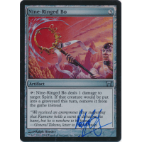 Nine-Ringed Bo FOIL Signed by Ralph Horsley Thumb Nail