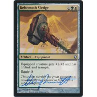 Behemoth Sledge Signed by Steve Prescott (Commander 2013) Thumb Nail
