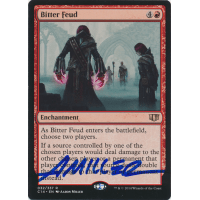 Bitter Feud Signed by Aaron Miller (Commander 2014 Edition) Thumb Nail