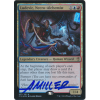 Ludevic, Necro-Alchemist FOIL Signed by Aaron Miller (Commander 2016 Edition) Thumb Nail