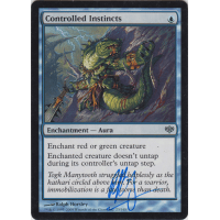 Controlled Instincts Signed by Ralph Horsley Thumb Nail