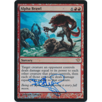Alpha Brawl FOIL Signed by Randy Gallegos Thumb Nail