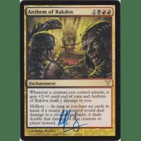 Anthem of Rakdos Signed by Ralph Horsley Thumb Nail