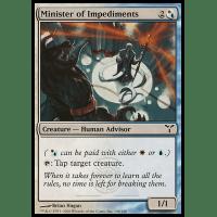 Minister of Impediments Thumb Nail