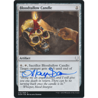 Bloodtallow Candle Signed by Alayna Danner (Dominaria) Thumb Nail