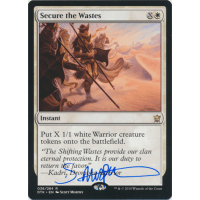 Secure the Wastes Signed by Scott Murphy Thumb Nail