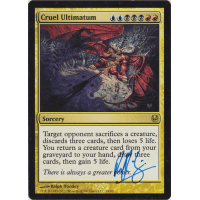 Cruel Ultimatum Signed by Ralph Horsley Thumb Nail