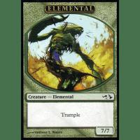 Elemental (Token, green, 7/7) Thumb Nail