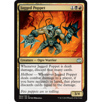 4x Jagged Poppet Dissension