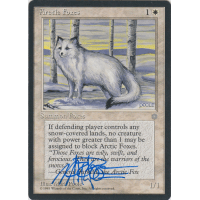 Arctic Foxes Signed by Mark Poole Thumb Nail