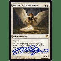 Angel of Flight Alabaster Signed by Howard Lyon Thumb Nail