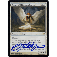 Angel of Flight Alabaster FOIL Signed by Howard Lyon Thumb Nail