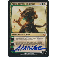 Ajani, Mentor of Heroes Signed by Aaron Miller Thumb Nail